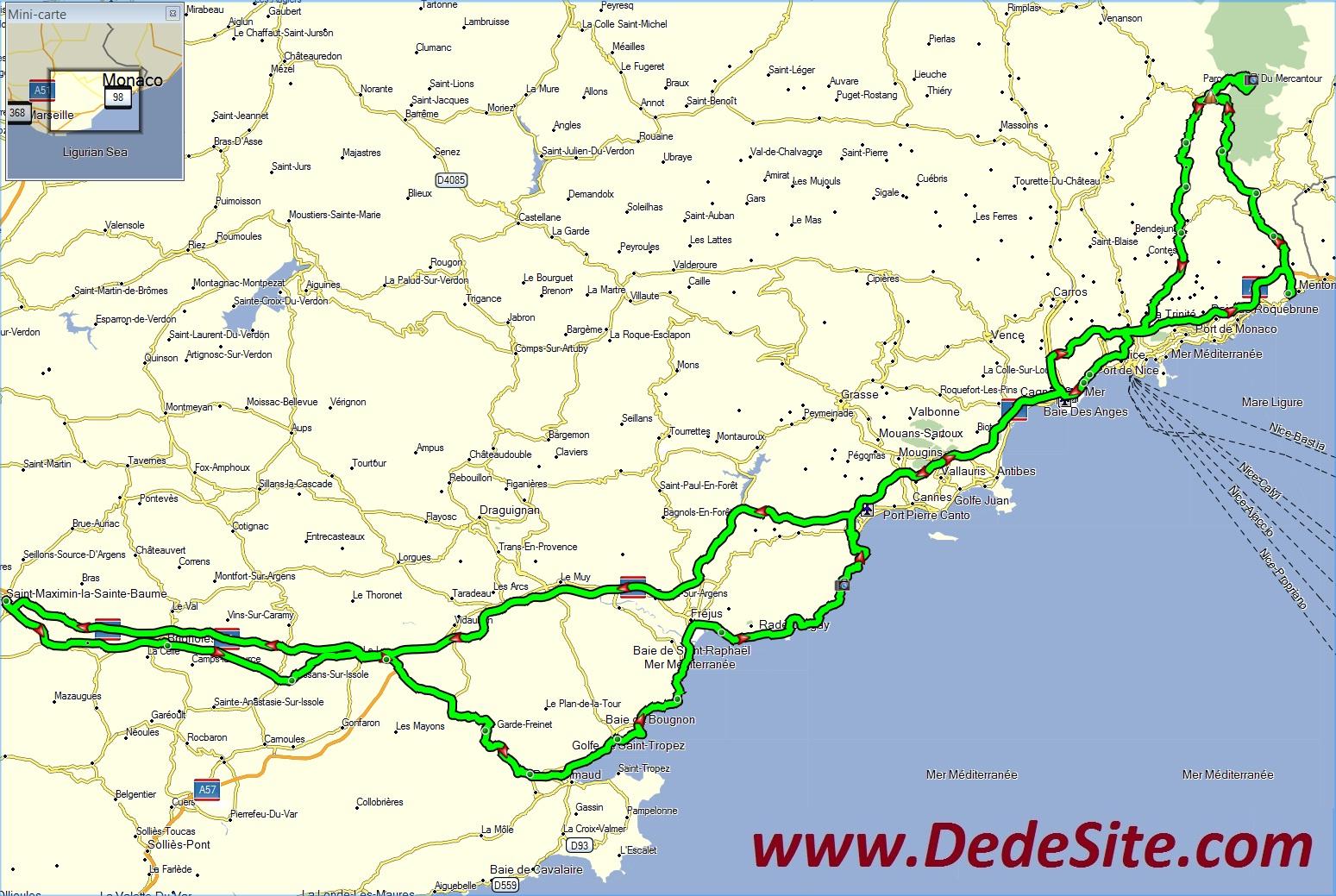 DedeSite: entre mer et montagne: Balades Voyages Moto